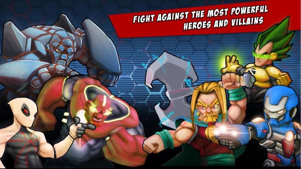 超级英雄自由格斗截图2