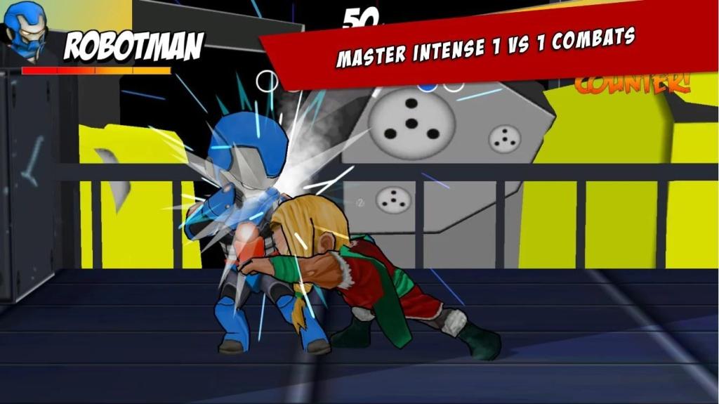 超级英雄自由格斗截图3