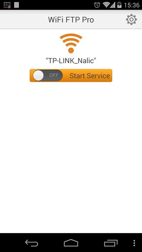 WiFi FTP 软件数据线截图1