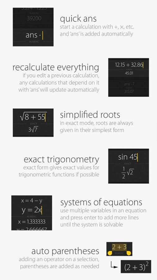 Archimedes计算器截图2