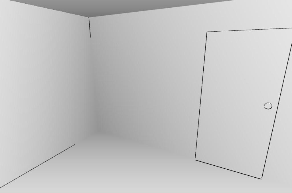 白色房间VR截图2
