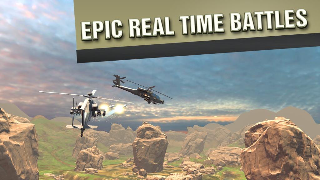 直升机战争VR截图2