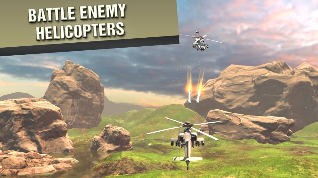 直升机战争VR截图3
