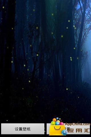 萤火虫飞舞动态壁纸