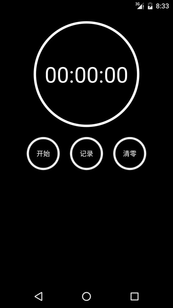 秒表截图0