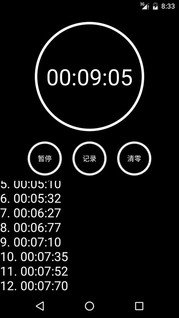 秒表截图2