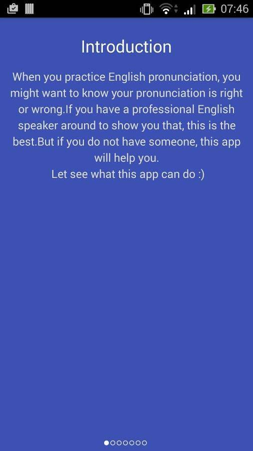 英语发音自检:English