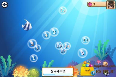 儿童数学乐园将教学练习和趣味游戏相结合