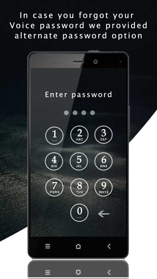 Smart Voice Lock Screen截图1
