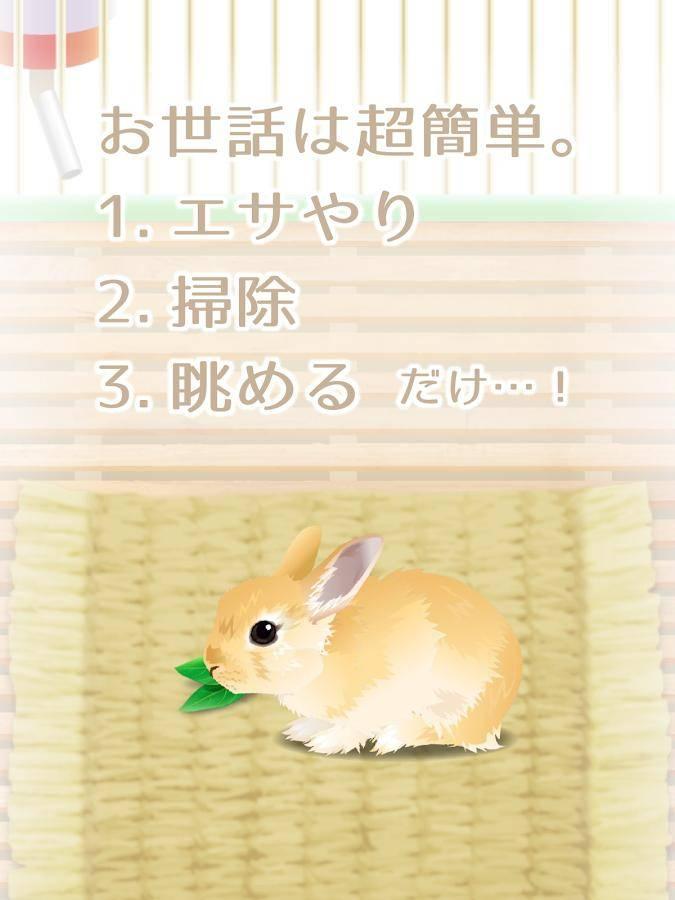 治愈系兔子养成截图2