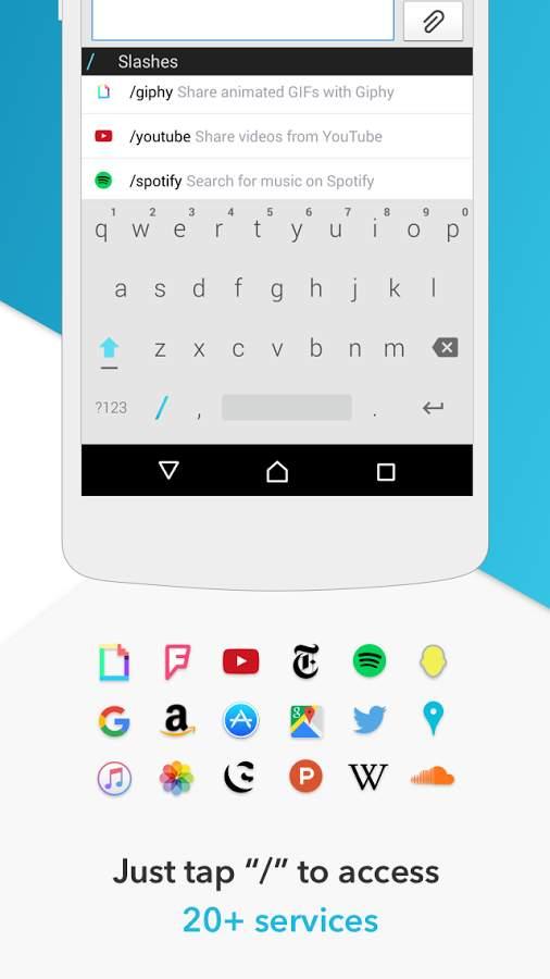 Slash输入法:Android 键盘