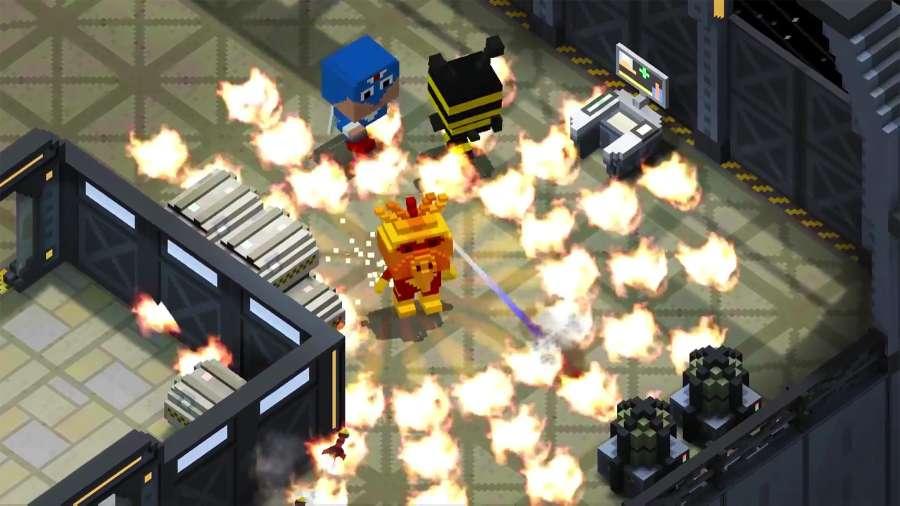 方块战役:战争英雄截图1
