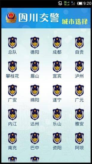 四川交警公共服务平台