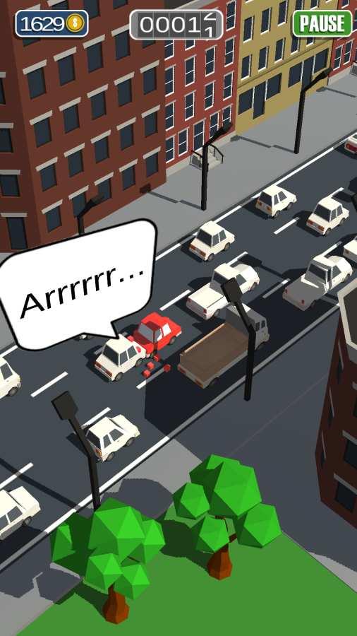 通勤:拥挤的交通截图1