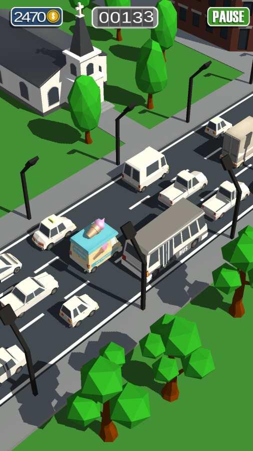 通勤:拥挤的交通截图2