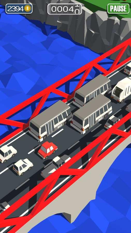 通勤:拥挤的交通截图3