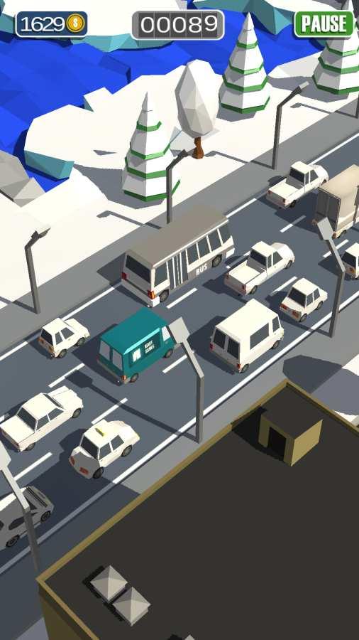 通勤:拥挤的交通截图4