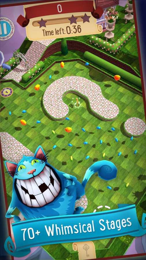 爱丽丝梦游仙境 解谜高尔夫冒险截图1