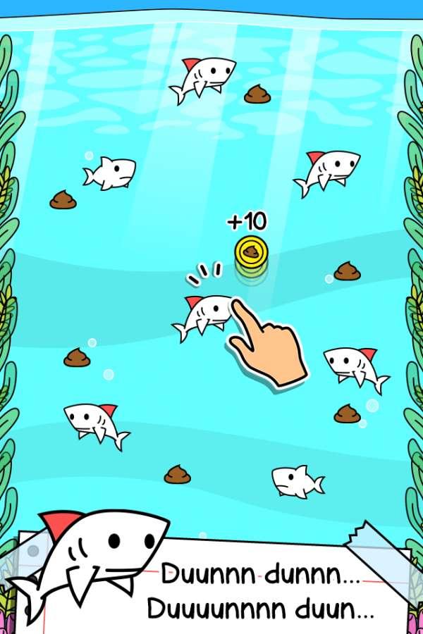 鲨鱼进化-点击游戏截图0