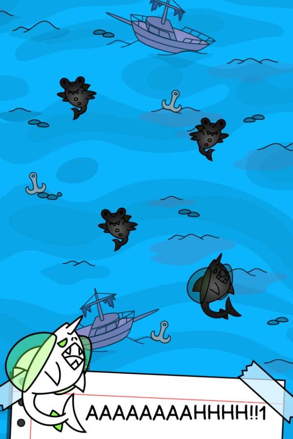 鲨鱼进化-点击游戏截图1