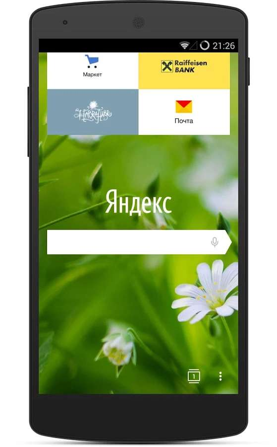 Yandex Browser Alpha截图3
