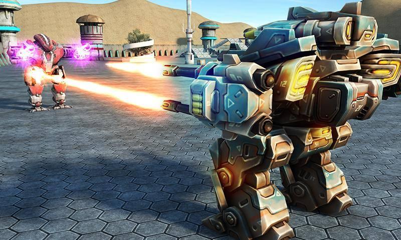 机甲机器人大战2050截图2
