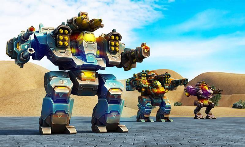 机甲机器人大战2050截图3