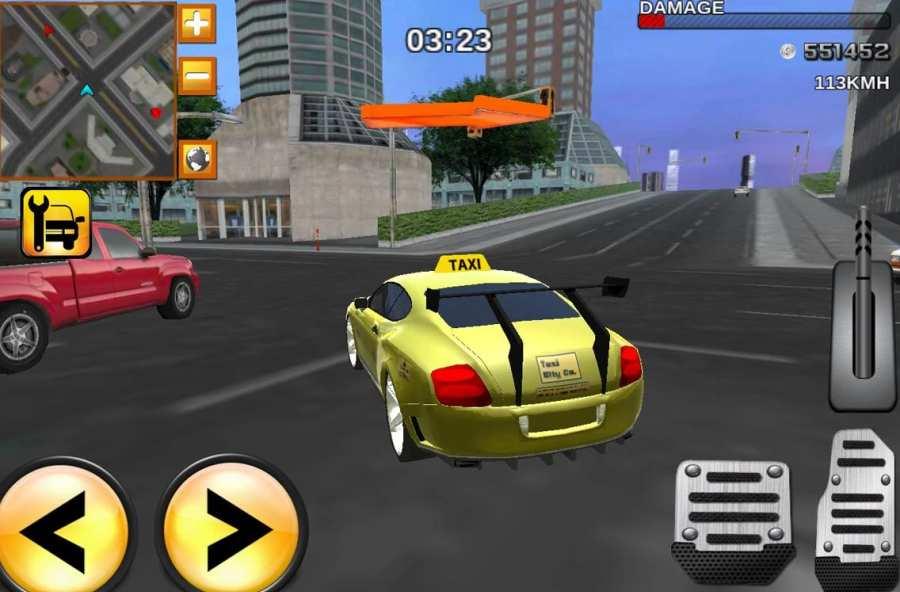驾驶出租车职务现代3D