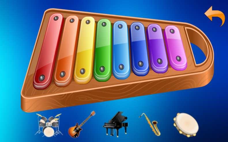 乐器为孩子