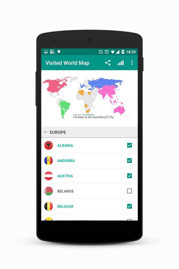 游览世界地图截图0