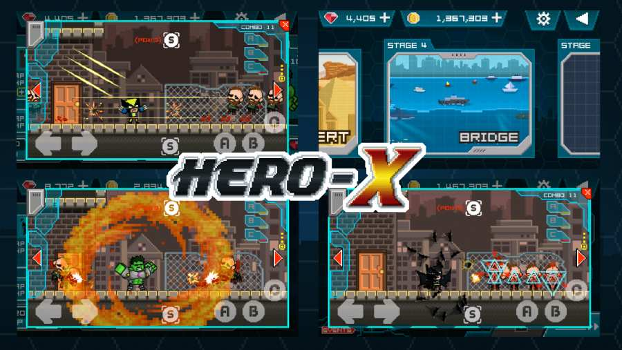 英雄X截图3