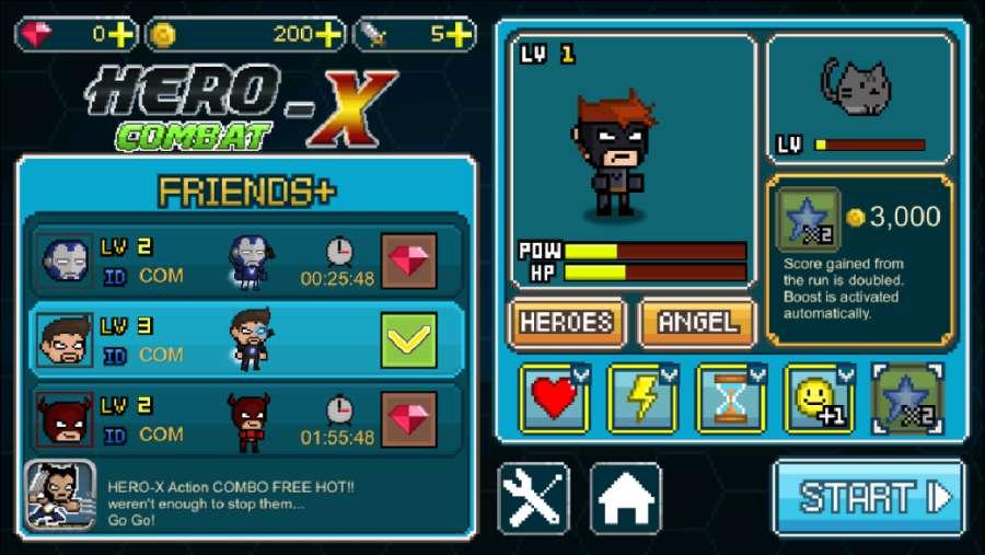 英雄X:战斗 HERO-X:截图4