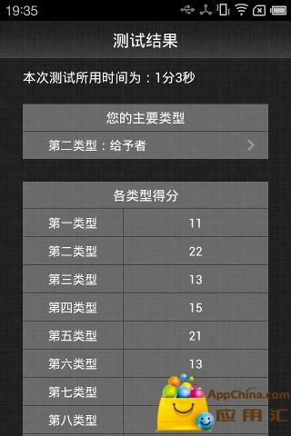 玩生活App|九型人格测试(114题)免費|APP試玩