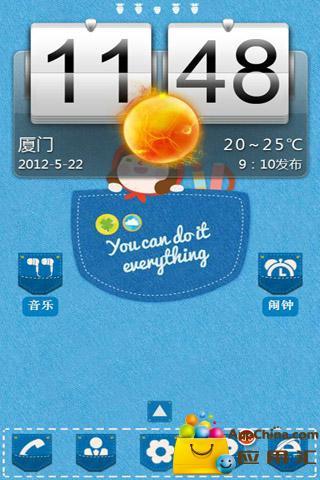 玩工具App 【宝软主题】牛仔口袋的世界免費 APP試玩