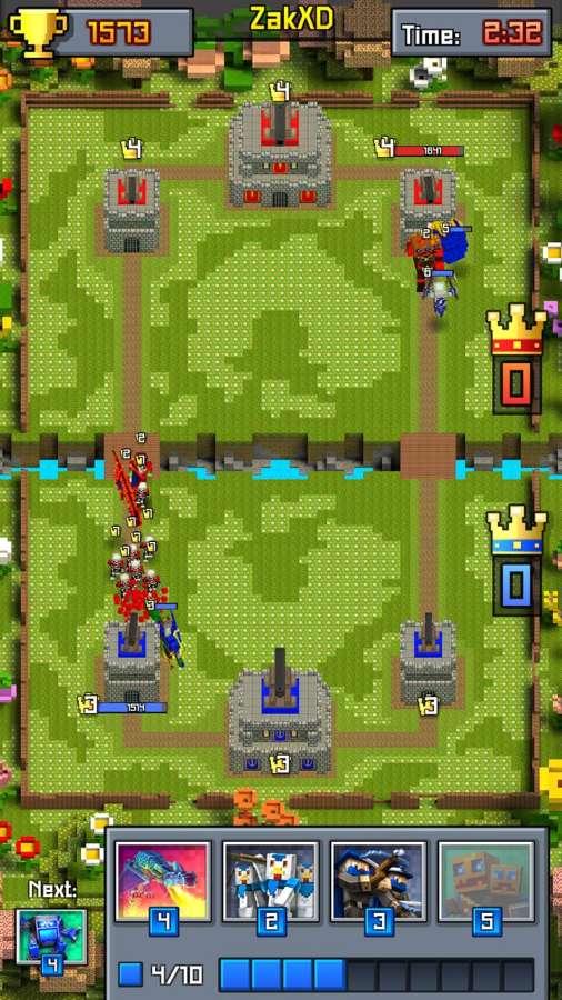 皇室战争:像素冲突截图3