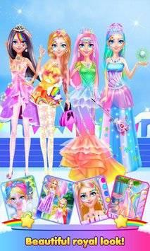 Rainbow Princess Magic Kingdom APK截图2
