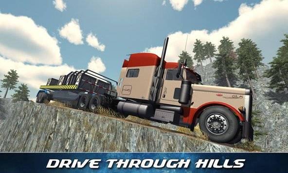 Off Road Trailer Truck Driver APK截图0