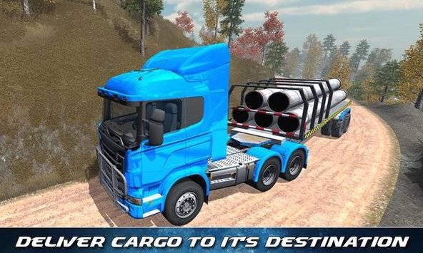 Off Road Trailer Truck Driver APK截图1
