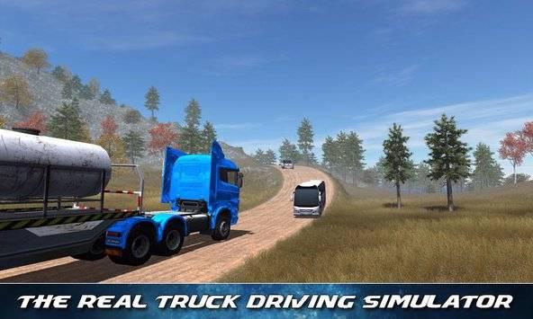 Off Road Trailer Truck Driver APK截图2