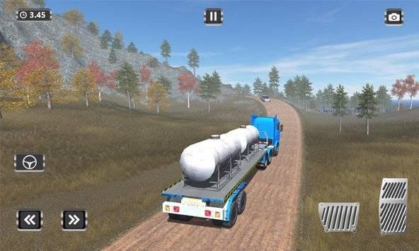 Off Road Trailer Truck Driver APK截图5