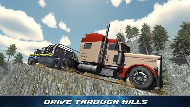 Off Road Trailer Truck Driver APK截图7