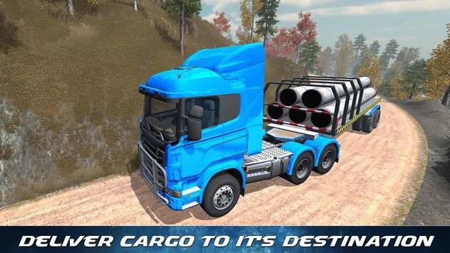 Off Road Trailer Truck Driver APK截图8