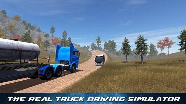 Off Road Trailer Truck Driver APK截图9