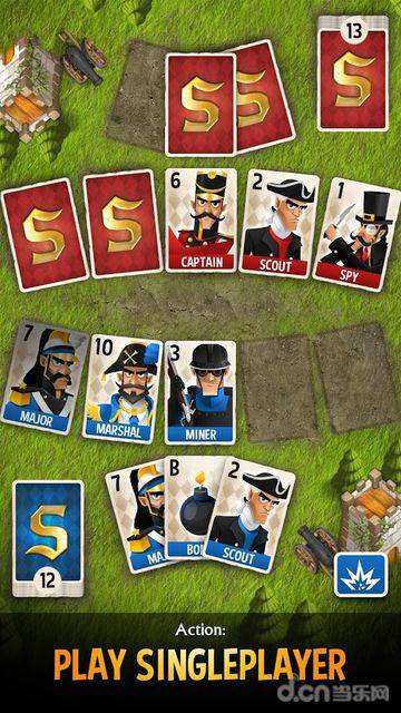 西洋陆军棋:卡牌对战截图3