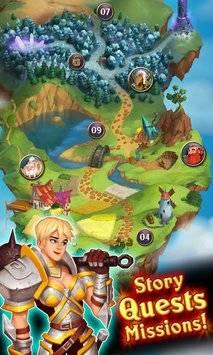 Heroes Of Puzzlestone截图2