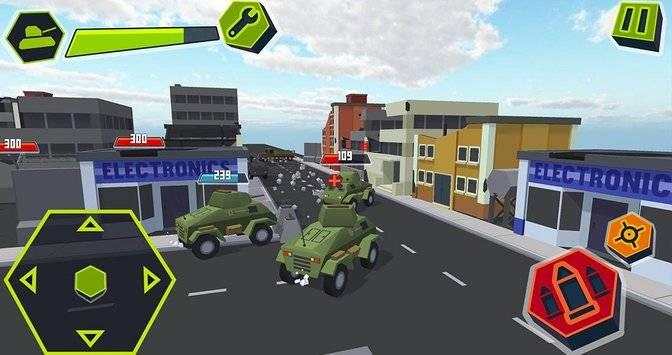 Cube Tanks - Blitz War 3D截图0