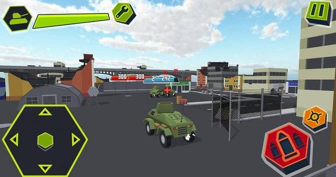 Cube Tanks - Blitz War 3D截图3