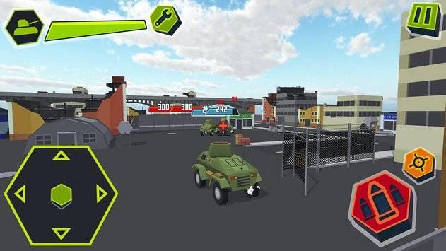 Cube Tanks - Blitz War 3D截图5