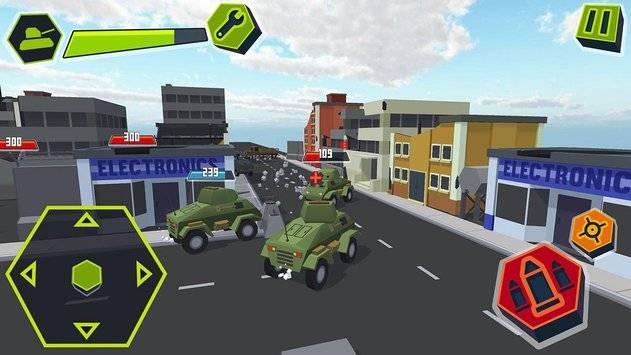 Cube Tanks - Blitz War 3D截图6