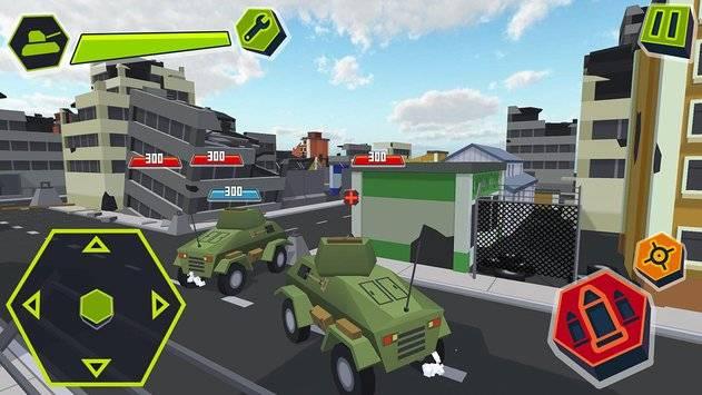Cube Tanks - Blitz War 3D截图7